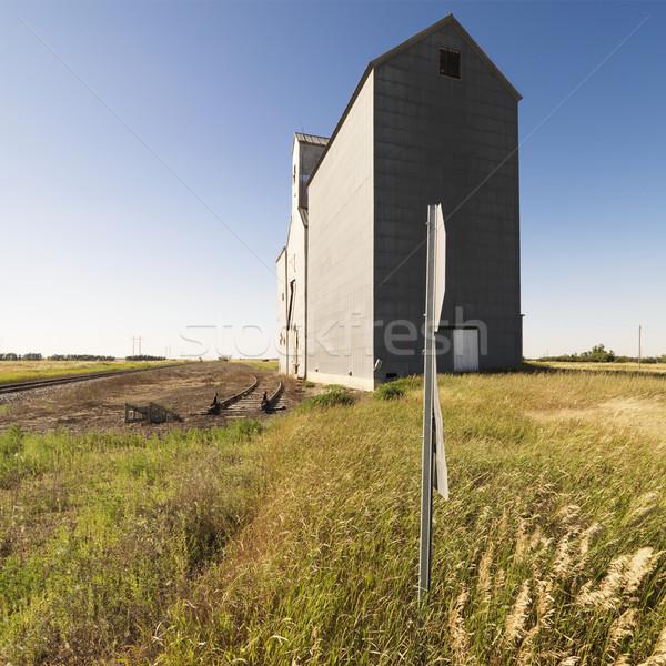 Grain elevator. Stock photo © iofoto