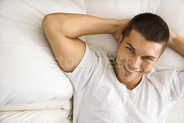 Man relaxing. Stock photo © iofoto
