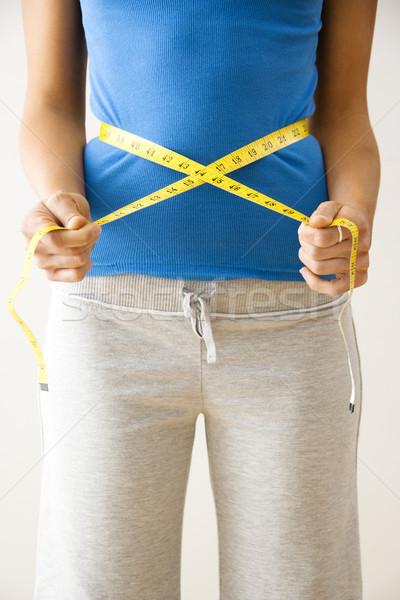 Measuring waist Stock photo © iofoto