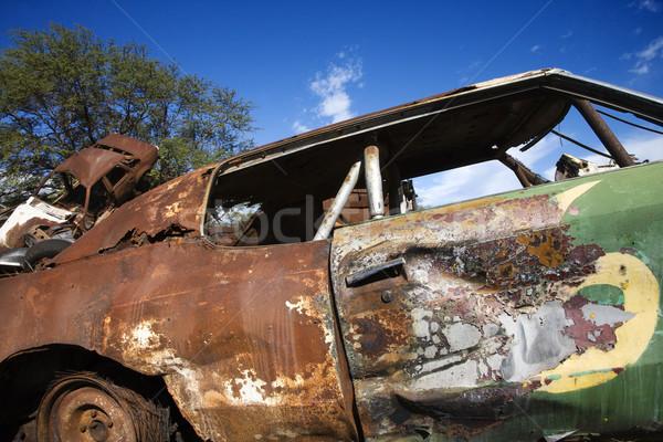 Junk car. Stock photo © iofoto