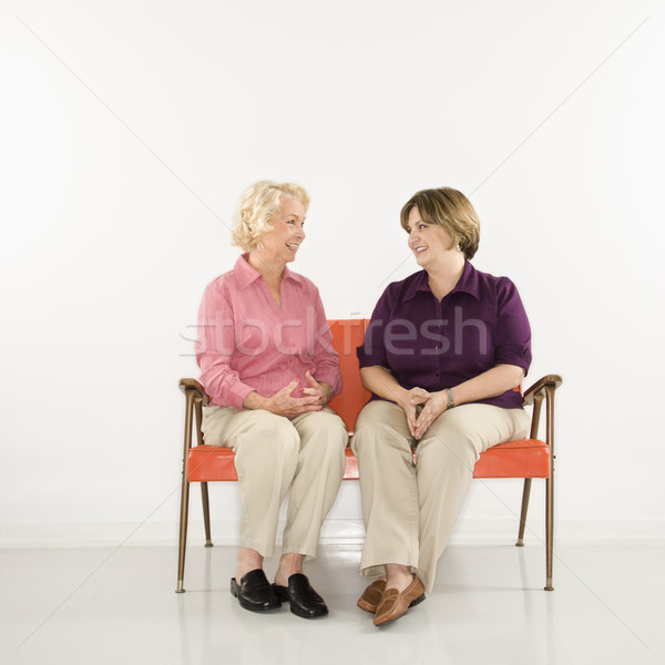Women talking. Stock photo © iofoto