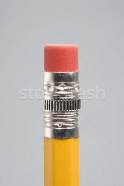 Eraser карандашом конец бизнеса служба Сток-фото © iofoto