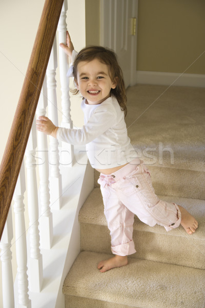 Girl toddler. Stock photo © iofoto