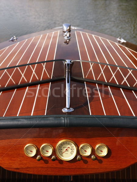 Wooden boat. Stock photo © iofoto