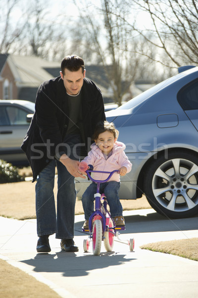 Father and daughter. Stock photo © iofoto