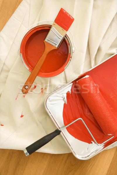 Foto d'archivio: Pittura · view · drop · panno
