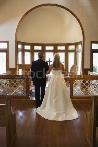 Church wedding. Stock photo © iofoto