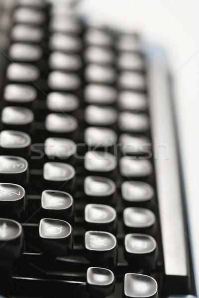 Typewriter keys. Stock photo © iofoto