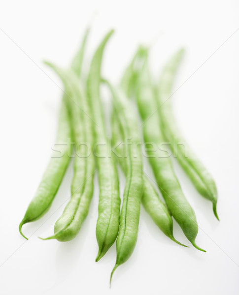 Stock photo: String beans.