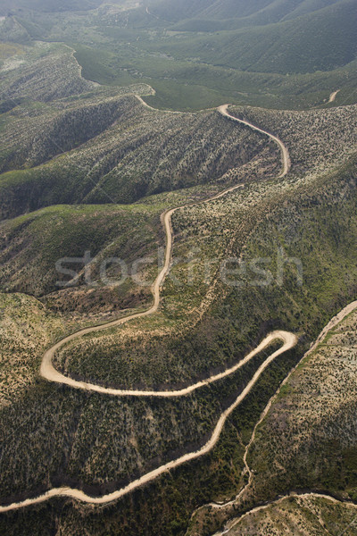 Winding scenic road. Stock photo © iofoto
