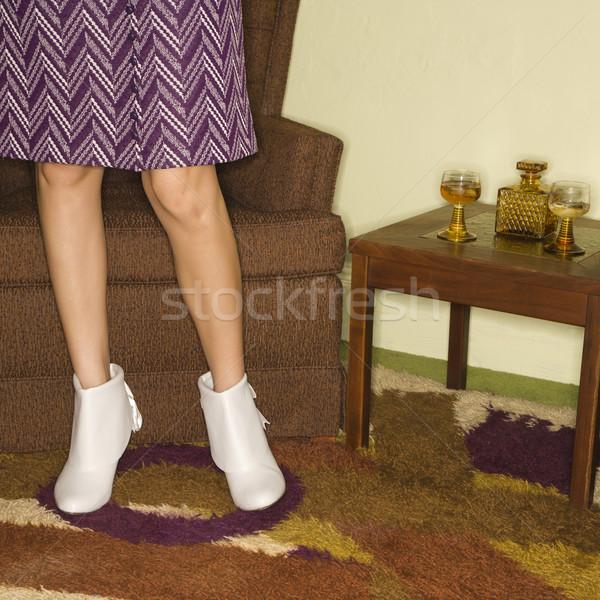 Pair of female legs. Stock photo © iofoto