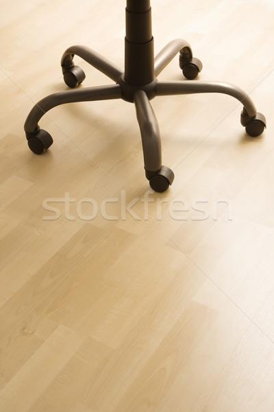 Mesa de escritório cadeira natureza morta pernas rodas negócio Foto stock © iofoto