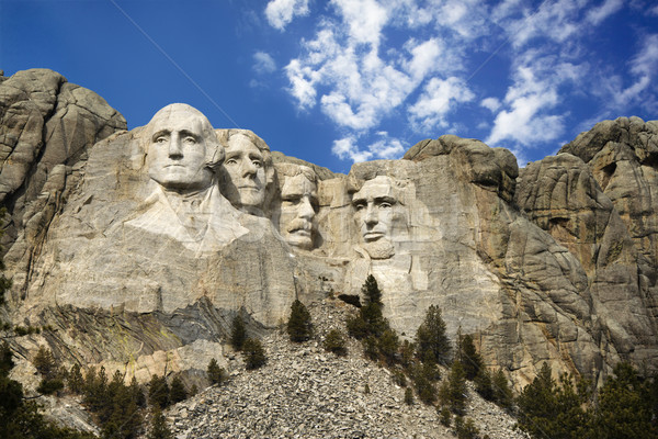 Photo stock: Mont · Rushmore · présidentielle · sculpture · Dakota · du · Sud · montagne · hommes