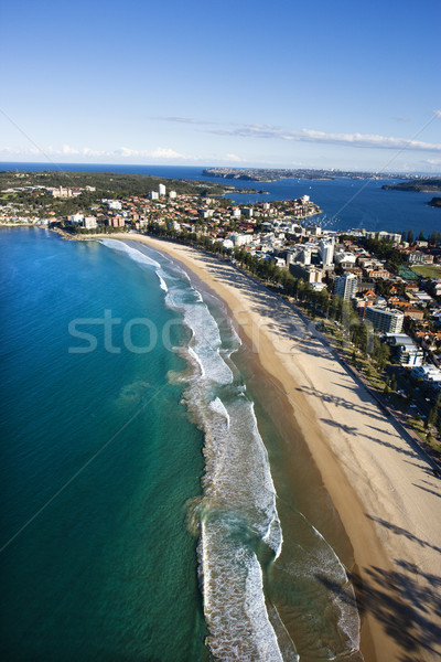 Beachfront property, Australia. Stock photo © iofoto