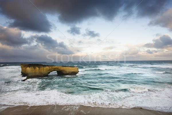 Coastal rock formation. Stock photo © iofoto
