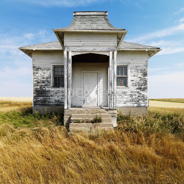 Old abandoned building. Stock photo © iofoto