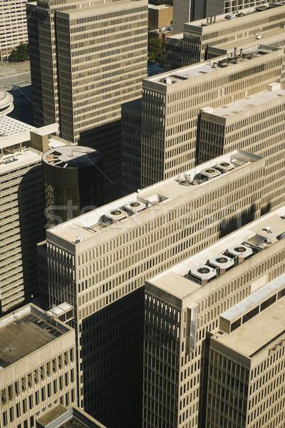 Luchtfoto centrum gebouwen atlanta Georgië gebouw Stockfoto © iofoto