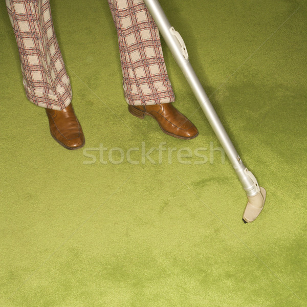 Man doing house chores. Stock photo © iofoto