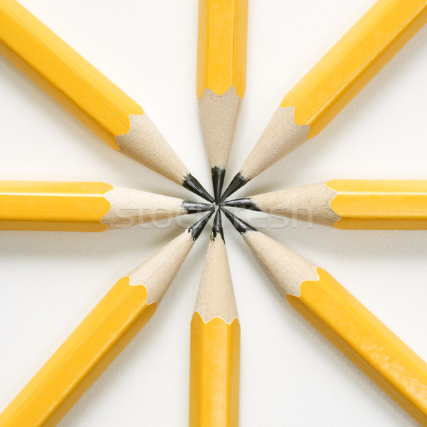 Pencils in star shape. Stock photo © iofoto