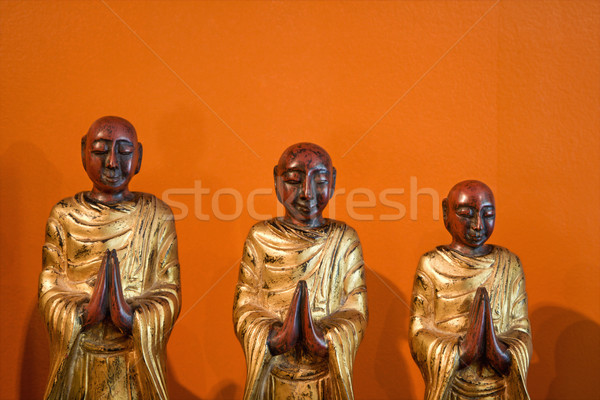 Wooden statues. Stock photo © iofoto