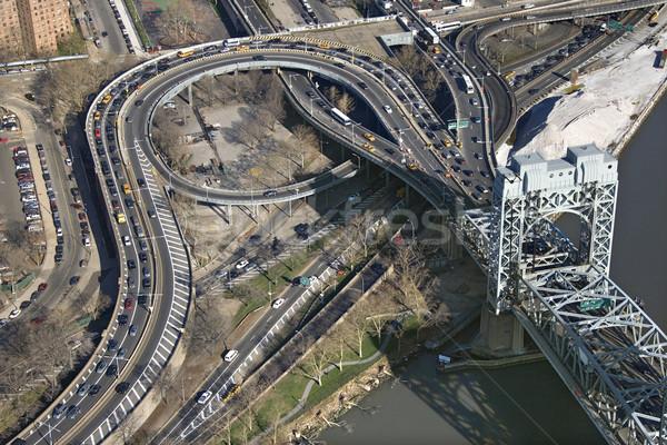 Triborough Bridge, NYC. Stock photo © iofoto
