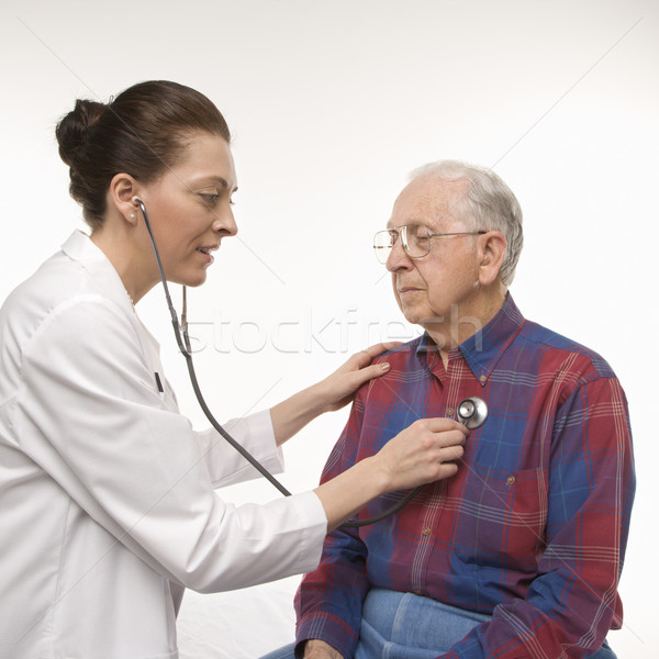 Man getting medical exam. Stock photo © iofoto