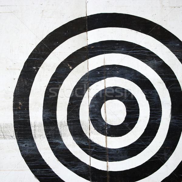 Bullseye target. Stock photo © iofoto