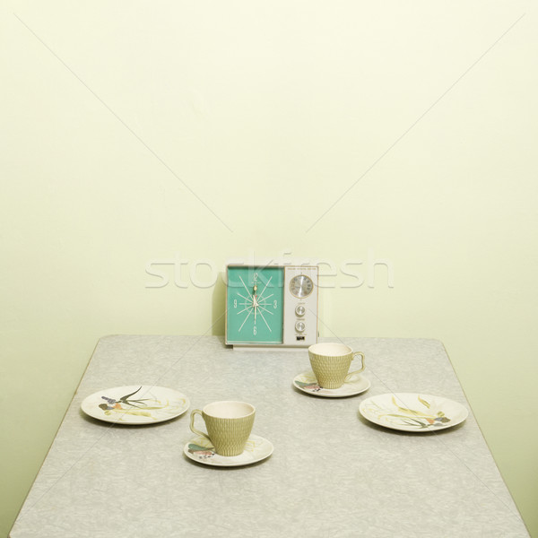 Vintage table setting. Stock photo © iofoto
