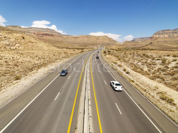 Rural desert highway. Stock photo © iofoto