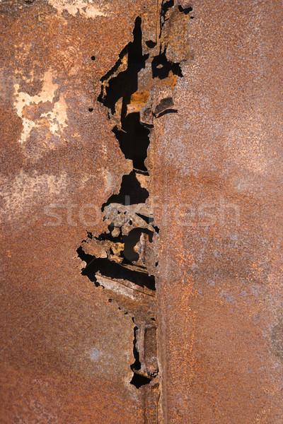 Rusted metal. Stock photo © iofoto