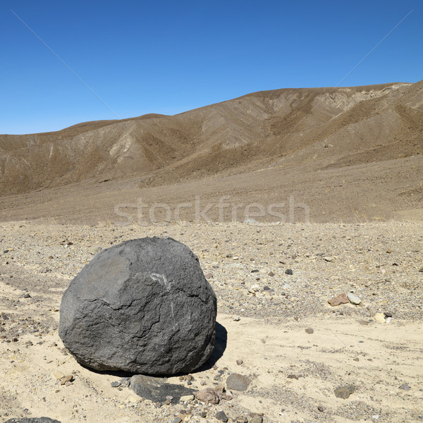 Boulder in Death Valley. Stock photo © iofoto