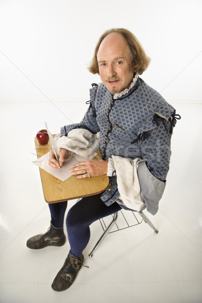 Shakespeare in school desk. Stock photo © iofoto