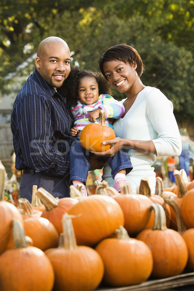 Happy family together. Stock photo © iofoto