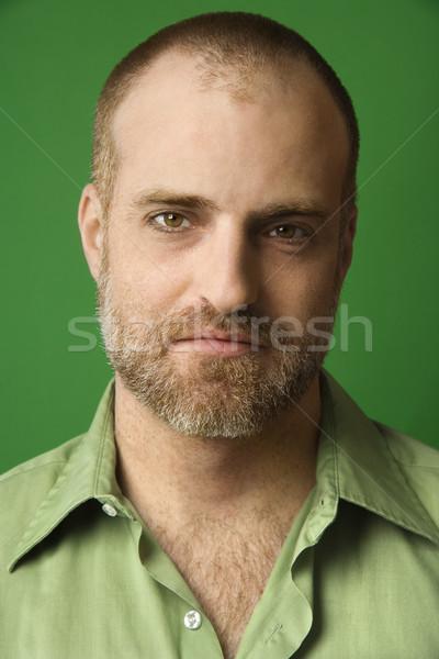 Portrait of Caucasian man. Stock photo © iofoto