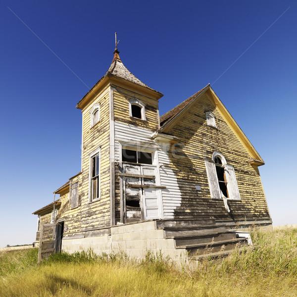 Old abandoned church. Stock photo © iofoto