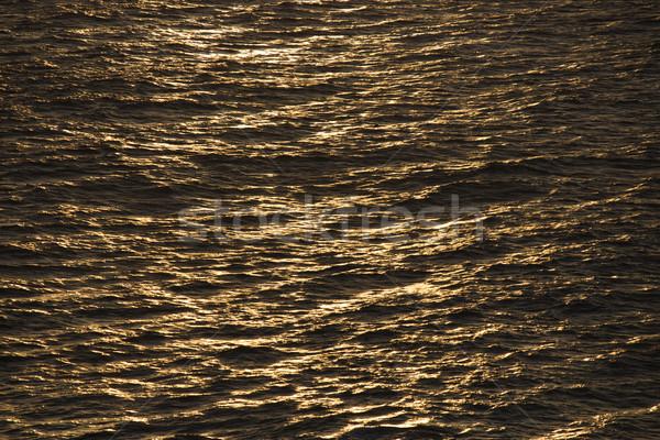 Sun reflected on ocean. Stock photo © iofoto