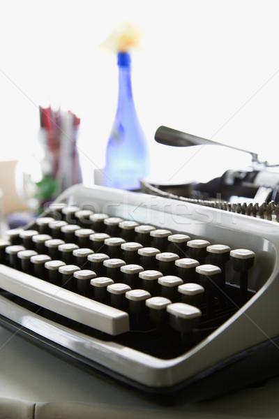 Typewriter. Stock photo © iofoto