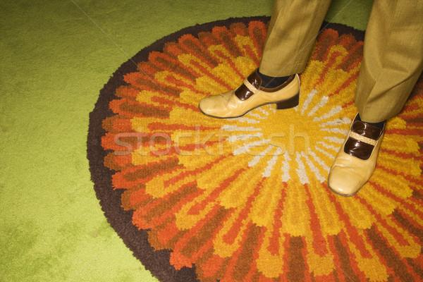 Pair of male feet. Stock photo © iofoto