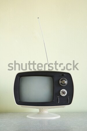 Vintage television set. Stock photo © iofoto