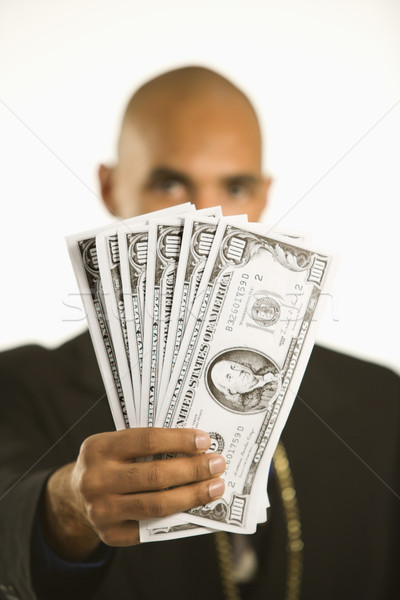 Man with money. Stock photo © iofoto