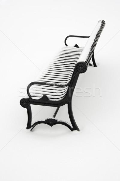Bench in snow. Stock photo © iofoto