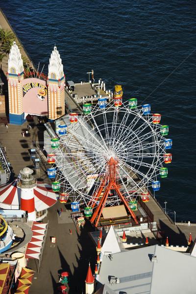 Amusement park. Stock photo © iofoto