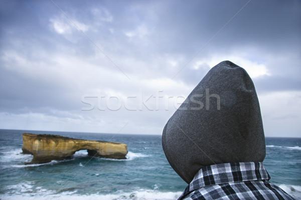 Sightseer at coast. Stock photo © iofoto