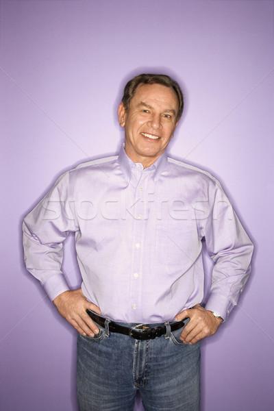 Smiling man. Stock photo © iofoto