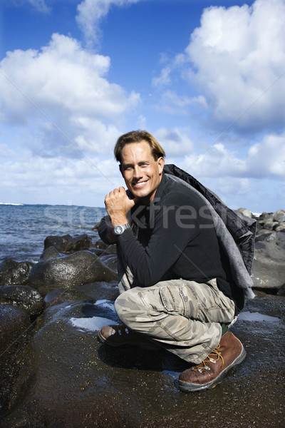 Man smiling in Maui. Stock photo © iofoto