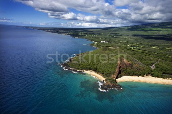 кратер Гавайи антенна пляж Сток-фото © iofoto