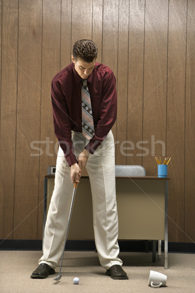 Golf at work. Stock photo © iofoto