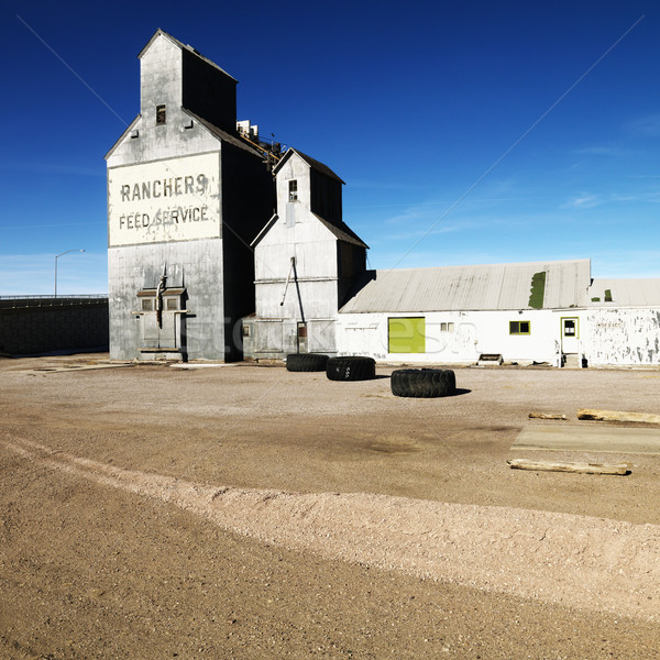 Feed storage building. Stock photo © iofoto