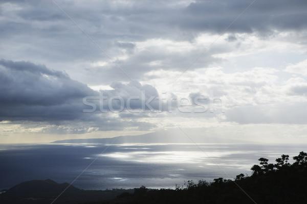 Island in Pacific ocean. Stock photo © iofoto