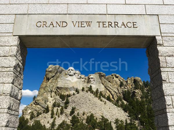 Mount Rushmore entrance. Stock photo © iofoto